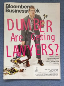 Business Week Cover - Are Lawyers Getting Dumber?