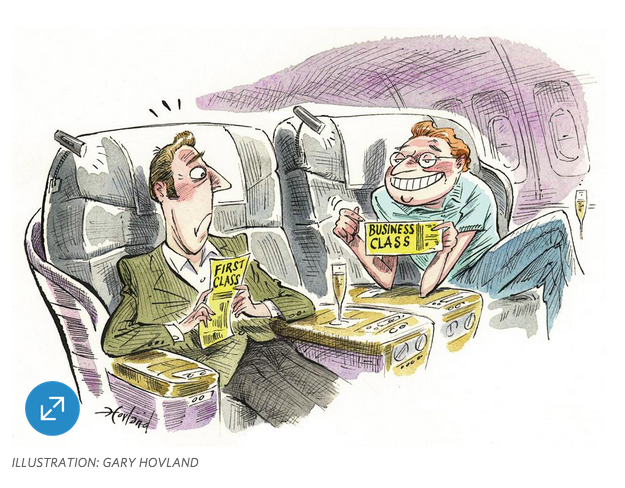 Wall Street Journal Illustration of Confusion in Airline Fare Pricing