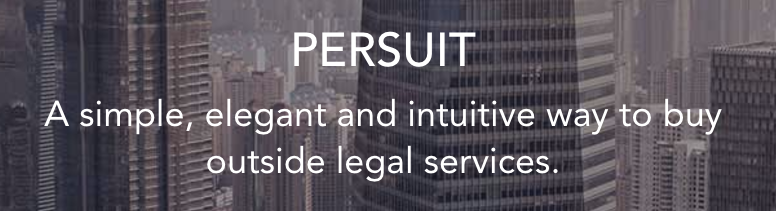 Rethinking How Clients Buy Legal Services – PERSUIT Platform for RFPs