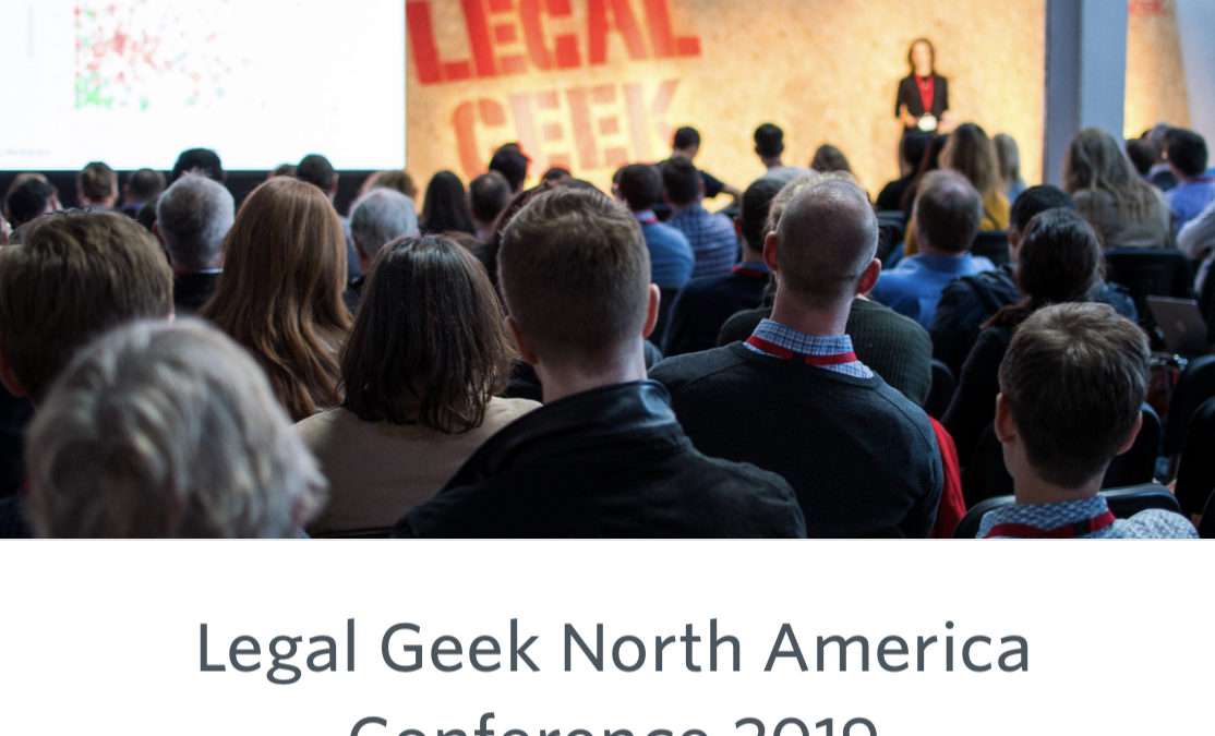 Legal Geek Opening Sessions (#LegalGeek Live)
