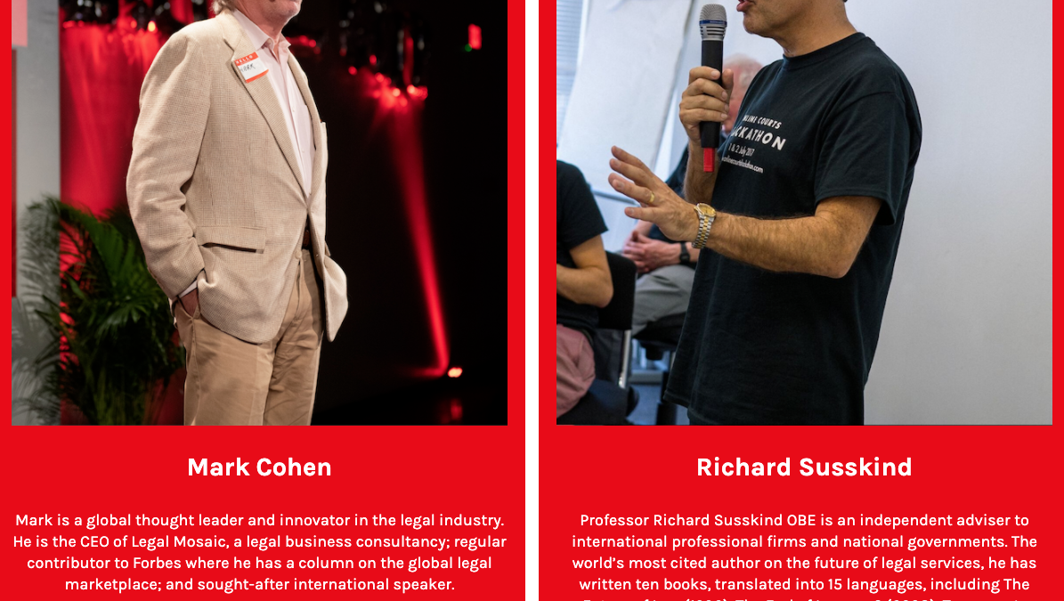 Richard Susskind + Mark Cohen debate the future of the legal industry