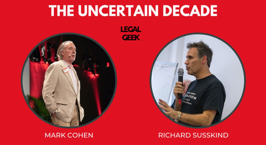 Richard Susskind + Mark Cohen on Digital Transformation + Legal Tech